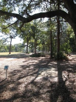 Ed Austin Park, Main course, Hole 11 Long tee pad