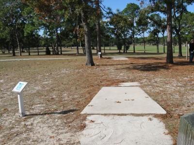 Ed Austin Park, Main course, Hole 16 Long tee pad