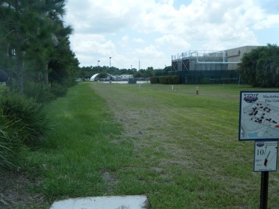 FAU - MacArthur Campus, Main course, Hole 10 Tee pad