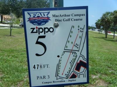 FAU - MacArthur Campus, Main course, Hole 5