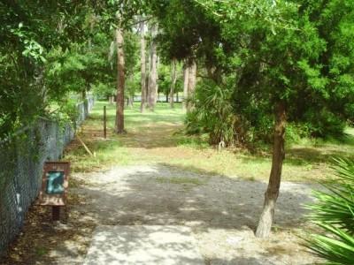 Taylor Park, Main course, Hole 3 Tee pad