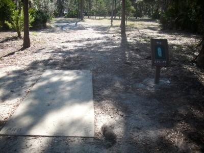 Taylor Park, Main course, Hole 2 Tee pad