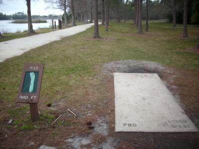 Taylor Park, Main course, Hole 13 Tee pad
