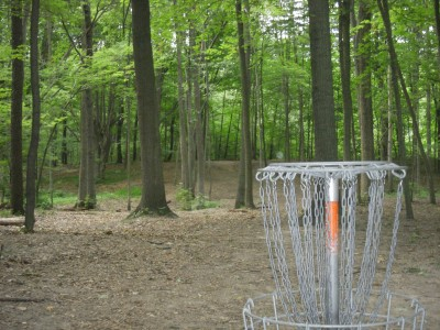Goldenrod Disc Golf Course, Main course, Hole 3 Reverse (back up the fairway)