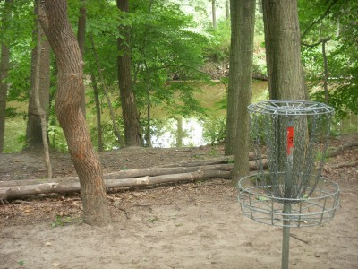 Goldenrod Disc Golf Course, Main course, Hole 3 Putt