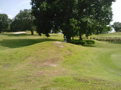 Lutz Executive DGC, Main course, Hole 9 Hole sign