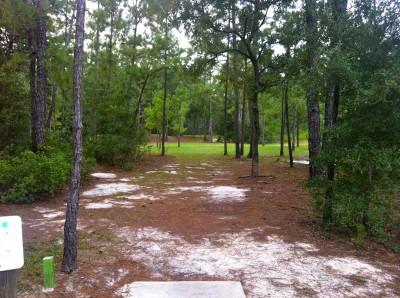 Ocala Greenway, Main course, Hole 3 Long tee pad
