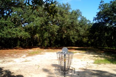 Ocala Greenway, Main course, Hole 6 Reverse (back up the fairway)