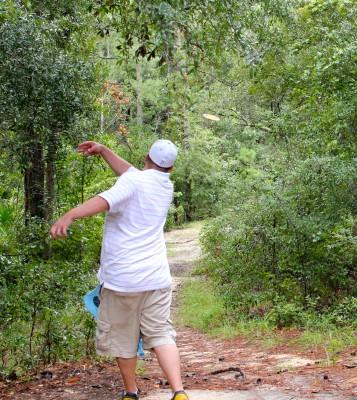 Ocala Greenway, Main course, Hole 9 Long tee pad