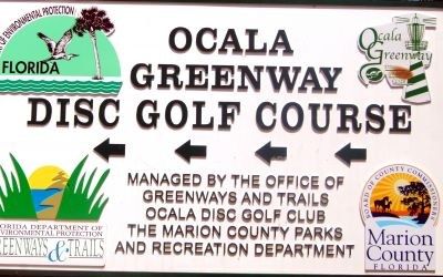 Ocala Greenway, Main course, Hole 24 Hole sign