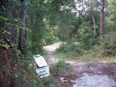 Ocala Greenway, Main course, Hole 9 Tee pad