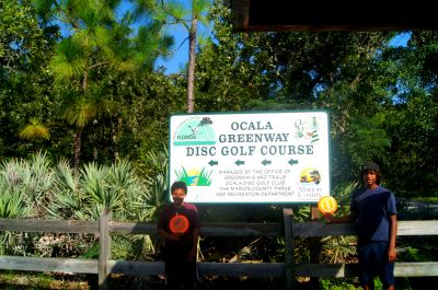 Ocala Greenway, Main course, Hole 23 Hole sign