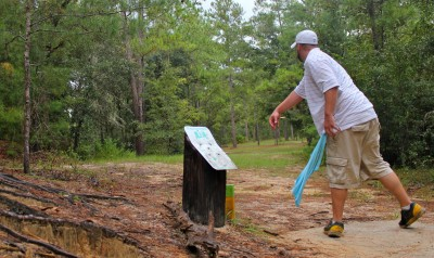 Ocala Greenway, Main course, Hole 13 Long tee pad
