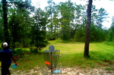 Ocala Greenway, Main course, Hole 17 Reverse (back up the fairway)
