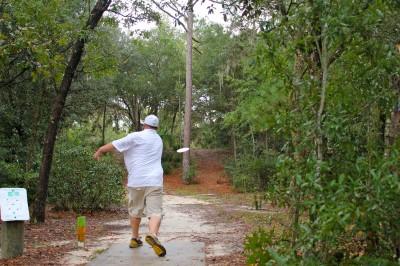Ocala Greenway, Main course, Hole 6 Long tee pad