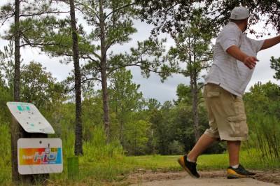 Ocala Greenway, Main course, Hole 18 Long tee pad