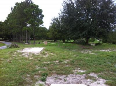Bill Frederick Park, Turkey Lake , Hole 1 Long tee pad