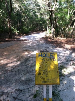 Blue Angel Park, Palmetto, Hole 15 Long tee pad