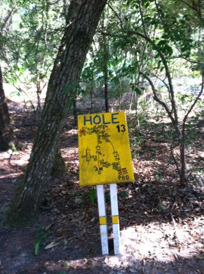 Blue Angel Park, Palmetto, Hole 13 Long tee pad
