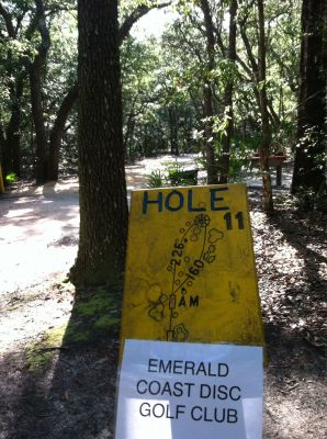 Blue Angel Park, Palmetto, Hole 11 Long tee pad