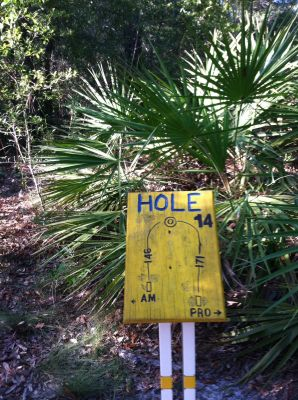 Blue Angel Park, Palmetto, Hole 14 Long tee pad