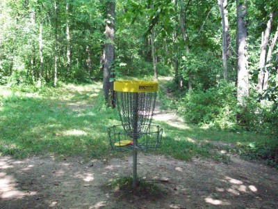 Valley Farm Park, Main course, Hole 5 Reverse (back up the fairway)