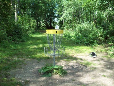Valley Farm Park, Main course, Hole 1 Reverse (back up the fairway)