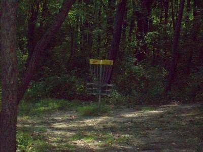 Valley Farm Park, Main course, Hole 4 Short approach