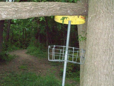 Valley Farm Park, Main course, Hole 8 Reverse (back up the fairway)