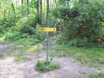 Valley Farm Park, Main course, Hole 1 Putt