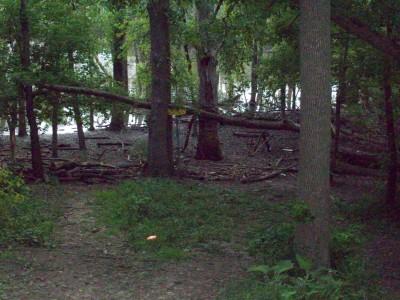 Valley Farm Park, Main course, Hole 8 Short approach