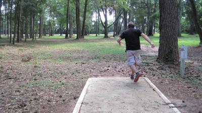 Jack McLean Park, Main course, Hole 7 Tee pad