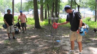 Jack McLean Park, Main course, Hole 1 Putt