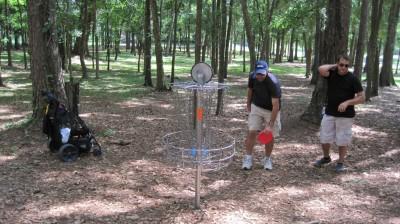 Jack McLean Park, Main course, Hole 9 Putt