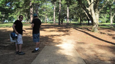 Tom Brown Park, Main course, Hole 2 Short tee pad