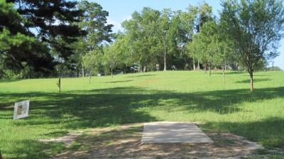 Tom Brown Park, Main course, Hole 8 Tee pad