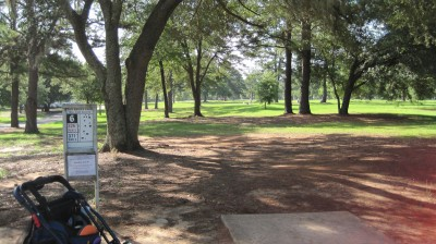 Tom Brown Park, Main course, Hole 6 Short tee pad