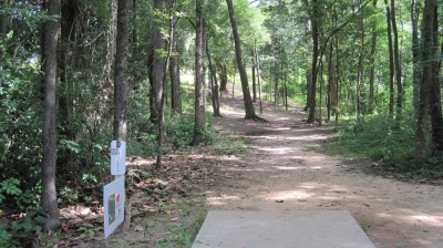 Tom Brown Park, Main course, Hole 22 Tee pad
