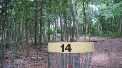 Tom Brown Park, Main course, Hole 14 Reverse (back up the fairway)