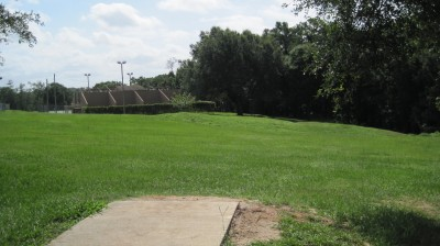 Tom Brown Park, Main course, Hole 24 Tee pad