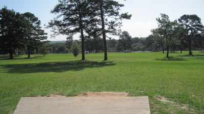 Tom Brown Park, Main course, Hole 9 Tee pad