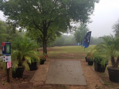 Tom Brown Park, Main course, Hole 1 Long tee pad