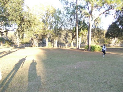 USF Riverfront Park, Main course, Hole 1 Midrange approach