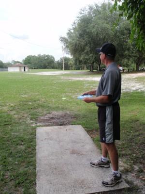 USF Riverfront Park, Main course, Hole 18 Tee pad