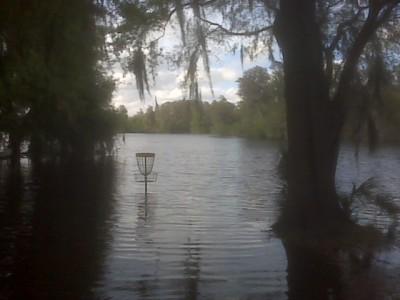 USF Riverfront Park, Main course, Hole 4 Short approach
