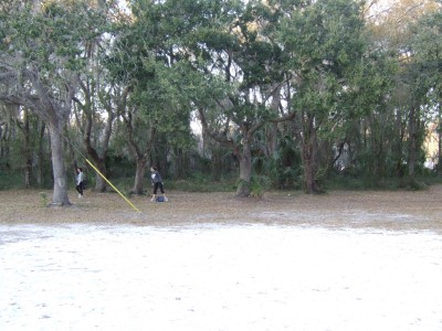 USF Riverfront Park, Main course, Hole 5 Long approach