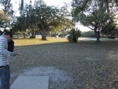 USF Riverfront Park, Main course, Hole 3 Tee pad