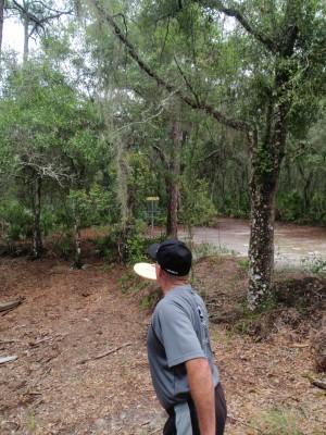 USF Riverfront Park, Main course, Hole 14 Putt