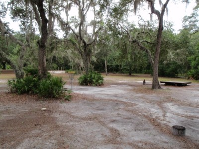 USF Riverfront Park, Main course, Hole 7 Putt