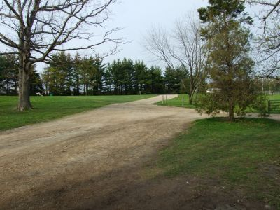 Michigan State University, Main course, Hole 1 Tee pad